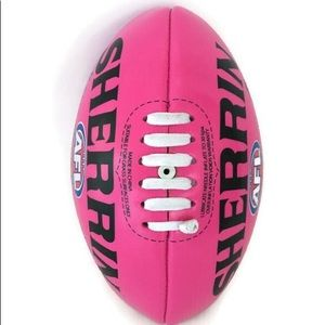 UNISEX SIZE 1 MERRIN AFL Football Pink Soft Touch